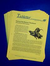 Techletter back issue set